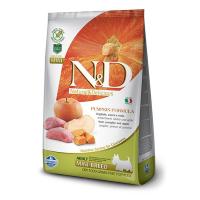 Корм сухой Farmina N&D для взрослых собак мелких пород с мясом кабана яблоком и тыквой