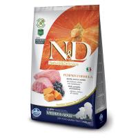 Корм сухой Farmina N&D для щенков мелких пород с ягненком черникой и тыквой