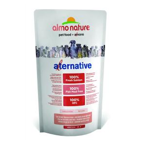 Корм сухой Almo nature Alternative для собак карликовых и мелких пород с лососем и рисом 750гр