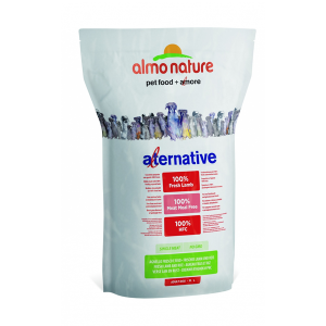 Корм сухой Almo nature Alternative для собак средних и крупных пород с ягненком  и рисом 3.75кг