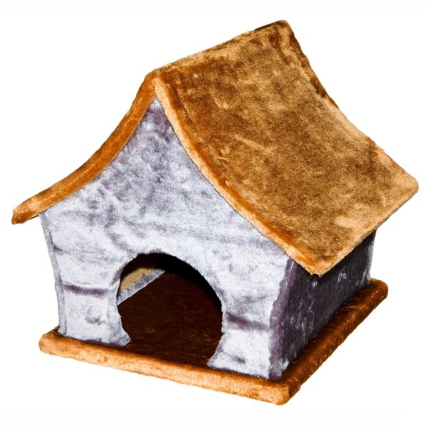 Домик-когтеточка Yami-Yami Хижина джут для кошек 41х37х40см