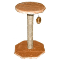 Когтеточка Yami-Yami Зонтик с помпоном сизаль для кошек 36х34х49см