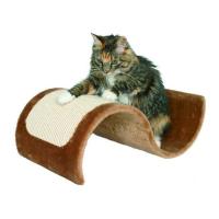 Когтеточка Trixie Волна плюшевая сизаль для кошек 50х29х18см
