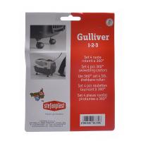Колеса Stefanplast 4 шт. для переносок Gulliver и Gulliver Deluxe 1,2,3 для кошек и собак