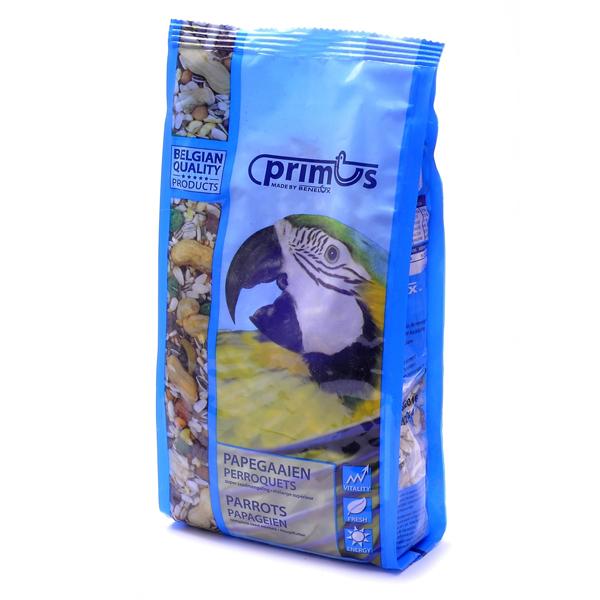 Корм Benelux Mixture for parrots Primus Примус Премиум для попугаев 2.5кг