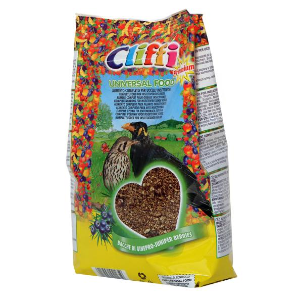 Корм Cliffi Universal Food Универсальный 1кг для насекомоядных птиц