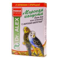 Корм Dr.ALEX Морская капуста для волнистых попугаев 500гр