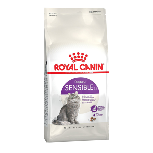 Корм сухой Royal Canin Sensible для кошек с птицей 0.4кг