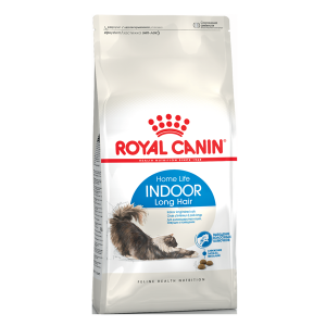 Корм сухой Royal Canin Indoor Long Hair для кошек с птицей 0.4кг
