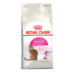 Корм сухой Royal Canin Exigent Savour Sensation для кошек с птицей 2кг